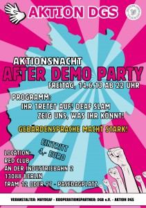 After_Demo_Party-Plakat